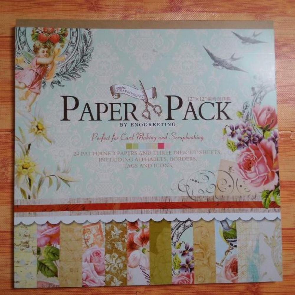 Scrapbook Paper Pack Blossom (Pastel)