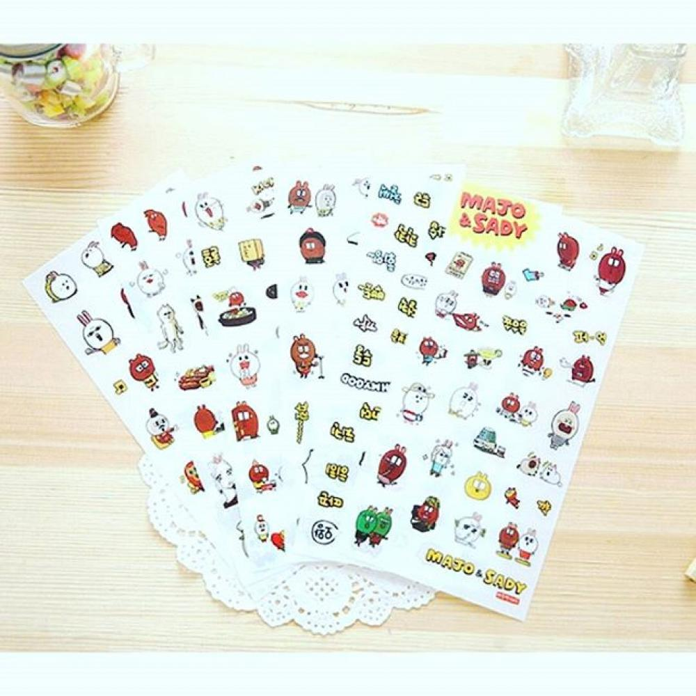 Majo & Sady Stickers Ver. 1