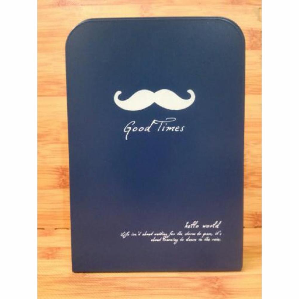 Book Holder: Hello World (Navy) - Pembatas Rak Buku