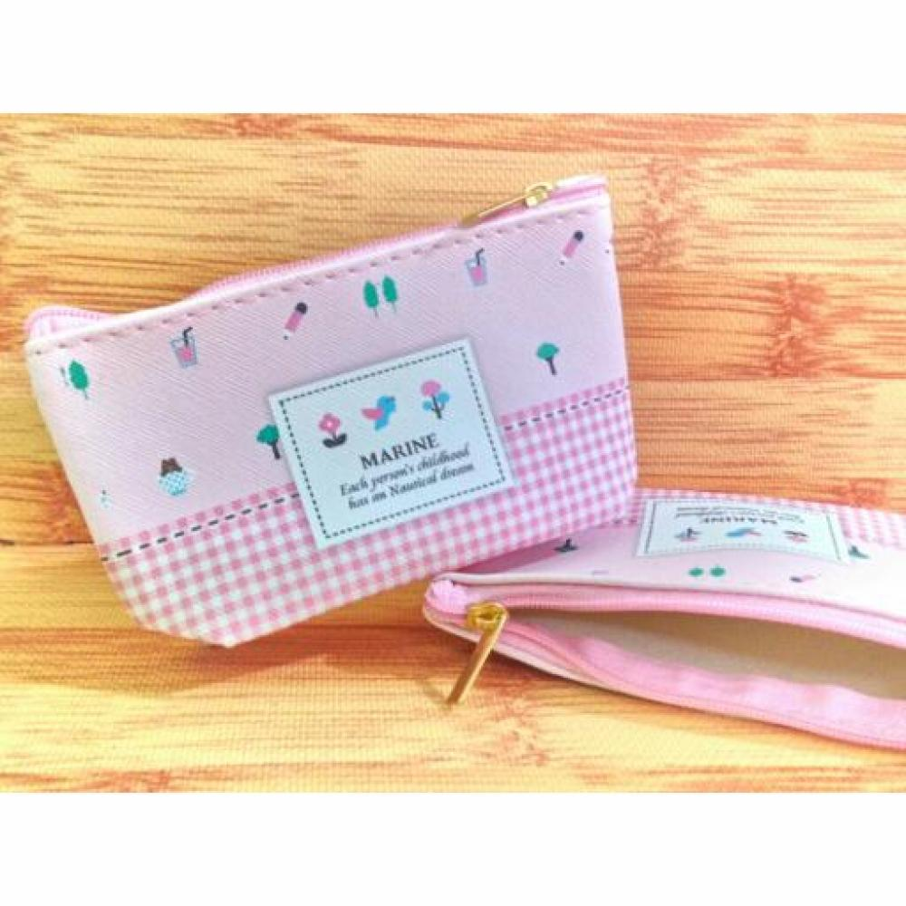 Coin Pouch: Flower - Dompet Koin / Dompet Uang