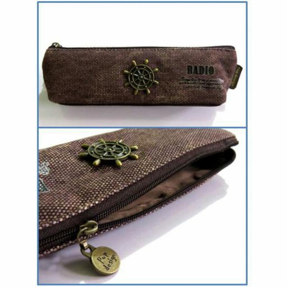 Pencil Case: Vintage Pop (A) - Tempat Pensil