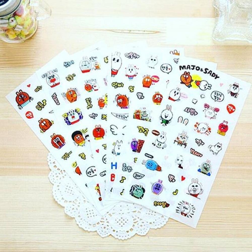 Majo & Sady Stickers Ver. 2