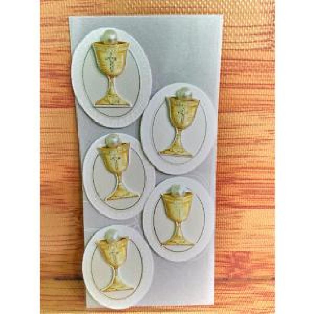 Scrapbook - 3D Sticker White (Grail)