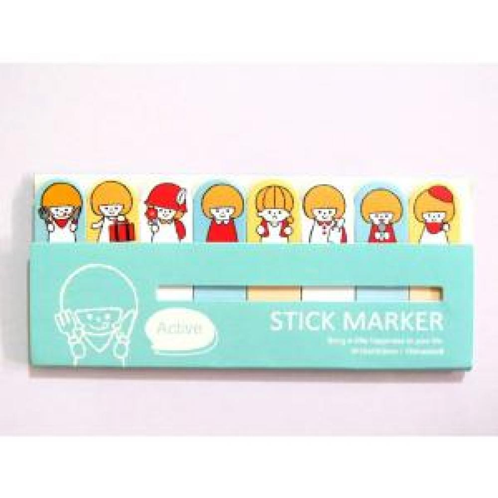 Sticky Note Marker (Tosca) - Post It/Memo Tempel