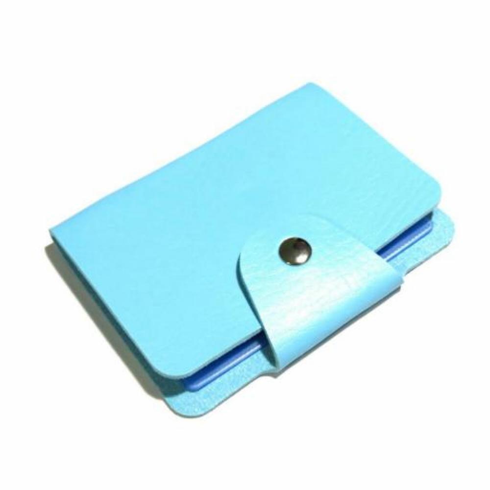 Card Holder: Plain (Sky Blue) - Tempat Kartu/Dompet Kartu Nama