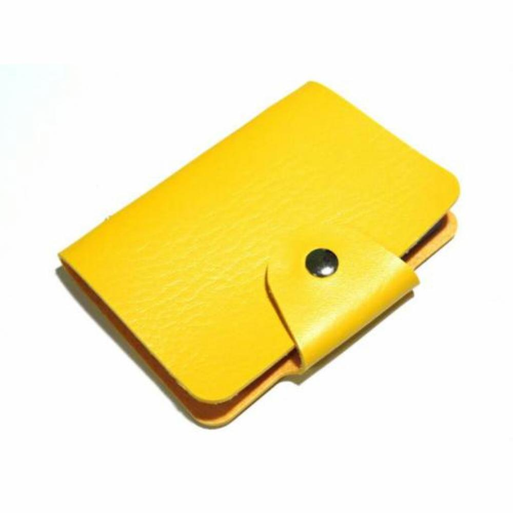Card Holder: Plain (Yellow) - Tempat Kartu/Dompet Kartu Nama