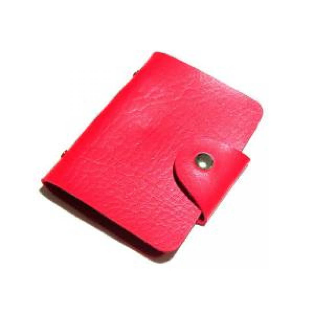 Card Holder: Plain (Red) - Tempat Kartu/Dompet Kartu Nama