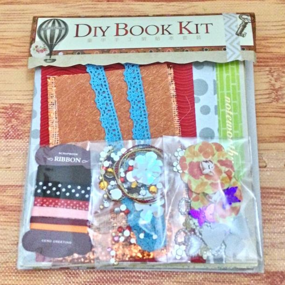 Scrapbook: DIY Spiral Book Kit (Balloon)