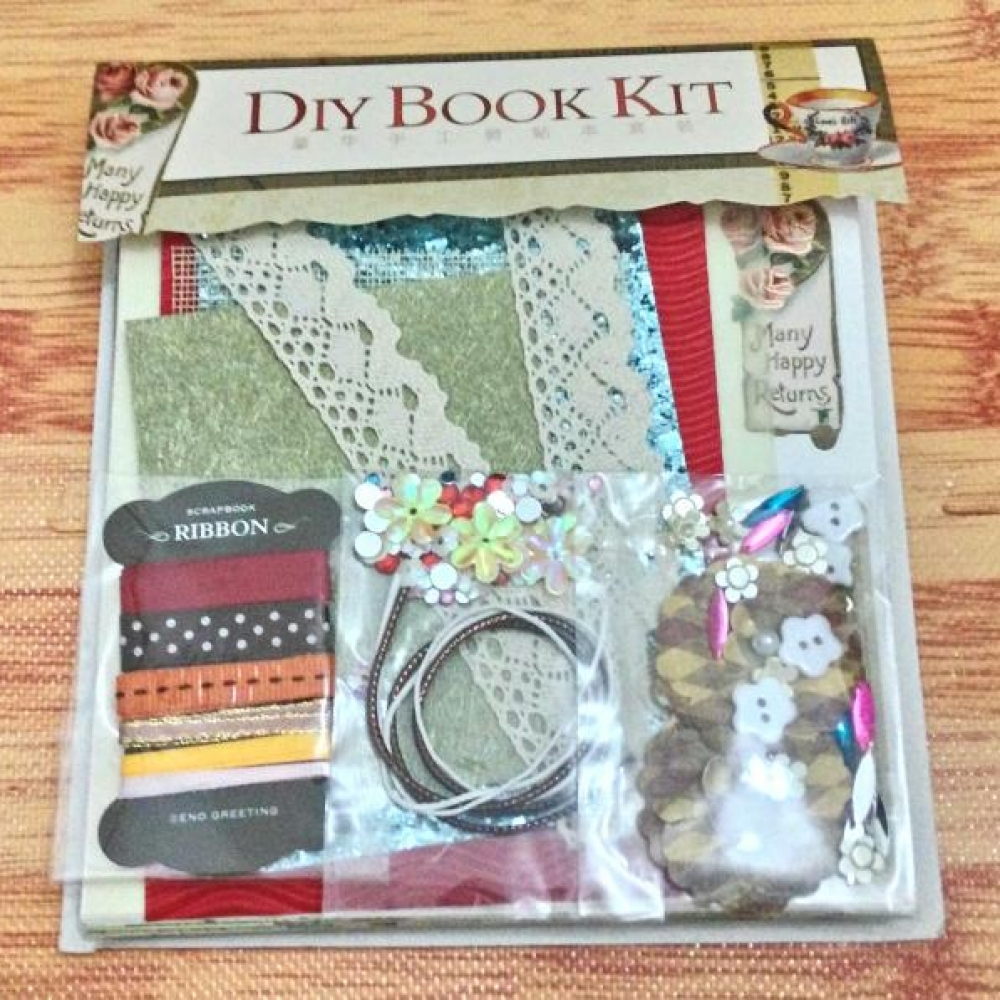Scrapbook: DIY Spiral Book Kit (Butterfly)