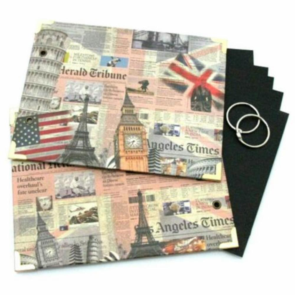 Scrapbook Ring Album Small Big Ben B