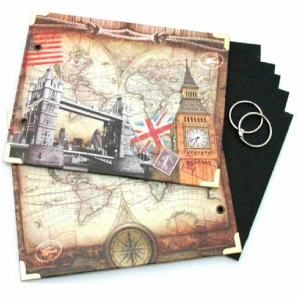 Scrapbook Ring Album Small Big Ben A