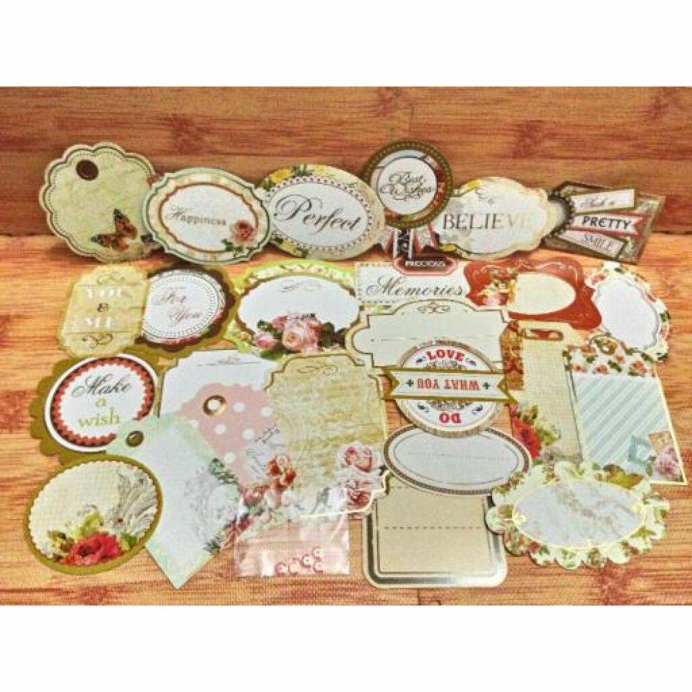 Scrapbook Die Cut Set (D)